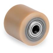 Rulli transpallet in poliuretano Vulkollan®, nucleo in acciaio